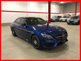 Used 2017 Mercedes-Benz C-Class C43 AMG 4MATIC NIGHT AMG DRIVER PREMIUM LED RED INT! for sale in Vaughan, ON