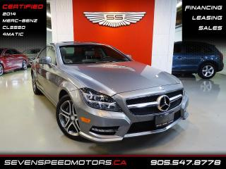 Used 2014 Mercedes-Benz CLS-Class CLS550 4MATIC | CERTIFIED | AMG | FINANCE @ 4.65% for sale in Oakville, ON
