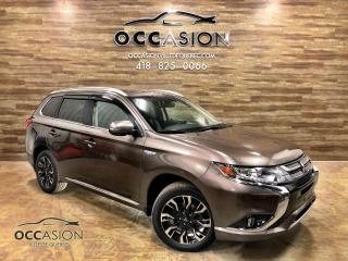 Used 2018 Mitsubishi Outlander Phev SE S-AWC PHEV 29961KM for sale in Ste-Brigitte-de-Laval, QC