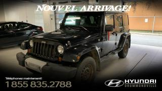 Used 2011 Jeep Wrangler UNLIMITED 70e ANNIVERSAIRE + GARANTIE + for sale in Drummondville, QC