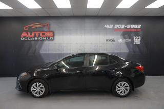 Used 2017 Toyota Corolla SE 6 VITESSES CUIR CAMERA BLUETOOTH 77 850 KM !! for sale in Lévis, QC