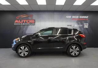 Used 2013 Kia Sportage AWD EX + LUXURY PACKAGE CUIR TOIT PANO 111 820 KM for sale in Lévis, QC