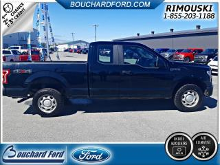 Used 2016 Ford F-150 EXTENDED CAB XL 4X4 for sale in Rimouski, QC