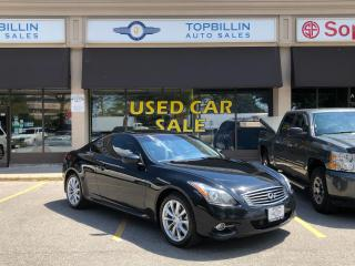 Used 2012 Infiniti G37 Premium G37X AWD, Navi, B Cam for sale in Vaughan, ON