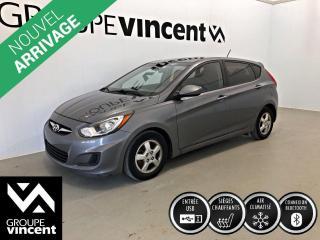 Used 2014 Hyundai Accent GL CLIMATISEUR ** GARANTIE 10 ANS ** Fiable et économique! for sale in Shawinigan, QC