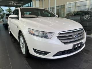 Used 2013 Ford Taurus SEL AWD, SUNROOF, POWER HEATED LEATHER SEATS, NAVI for sale in Edmonton, AB