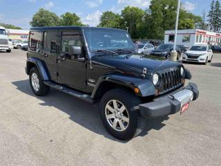Used 2012 Jeep Wrangler Unlimited Sahara 4dr 4WD Sport Utility Vehicle for sale in Brantford, ON