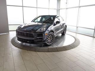 Used 2019 Porsche Macan S | CPO | Ext. Warranty | Premium Plus | Air Susp | Adaptive Cruise for sale in Edmonton, AB