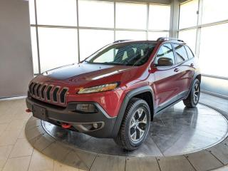 Used 2016 Jeep Cherokee JEEP CHEROKEE TRAILHAWK for sale in Edmonton, AB