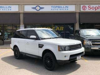 Used 2013 Land Rover Range Rover Sport HSE LUX, 2 Years Powertrain Warranty for sale in Vaughan, ON