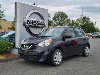 Used 2016 Nissan Micra SV for sale in Drummondville, QC
