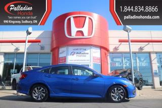 Used 2017 Honda Civic Sedan EX-CERTIFIED-GREAT FIRST CAR- GAS SAVER for sale in Sudbury, ON