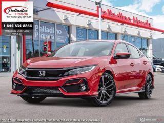 New 2020 Honda Civic Hatchback Sport for sale in Sudbury, ON