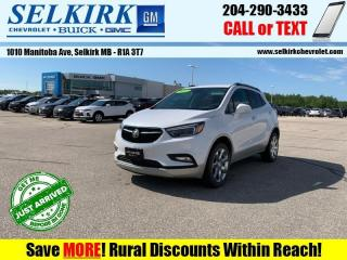 Used 2017 Buick Encore Essence  - Leather Seats - Heated Seats for sale in Selkirk, MB