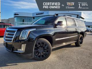 Used 2018 Cadillac Escalade ESV Platinum 4WD | Massaging Seats | 4 DVDs for sale in Winnipeg, MB