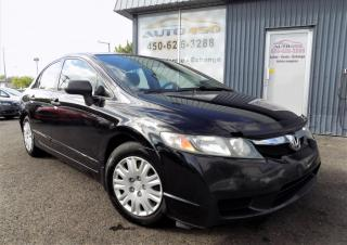 Used 2010 Honda Civic ***DX,AUTOMATIQUE,A/C,EQUIPÉ*** for sale in Longueuil, QC
