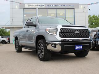 Used 2018 Toyota Tundra SR5 Plus for sale in Winnipeg, MB