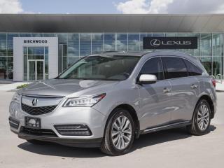 Used 2016 Acura MDX Nav Pkg AWD for sale in Winnipeg, MB