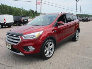 Used 2017 Ford Escape Titanium for sale in North Bay, ON