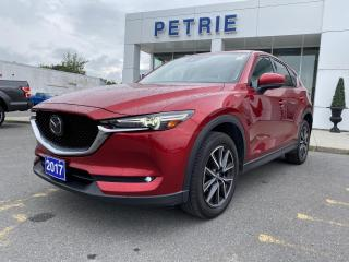 Used 2017 Mazda CX-5 GT - AWD, HEATED LEATHER, BLUETOOTH for sale in Kingston, ON