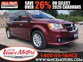 New 2020 Dodge Grand Caravan Premium Plus...BACKUP CAM*REMOTE START*STOW 'N GO! for sale in Bancroft, ON