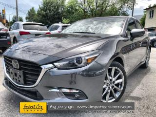 Used 2018 Mazda MAZDA3 GT TECH PACK  LEATHER  ROOF  NAVI  BLIS  ADAPTIVE for sale in Ottawa, ON