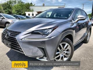 Used 2018 Lexus NX 300 LUXURY PACK  LEATHER  ROOF  NAVI  BLIS  BACKUP CAM for sale in Ottawa, ON