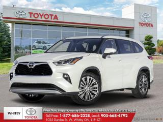 New 2020 Toyota Highlander Platinum for sale in Whitby, ON