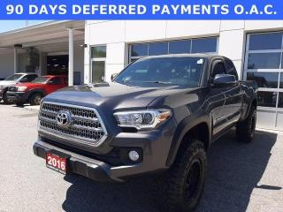 Used 2016 Toyota Tacoma 4WD Access Cab V6 Man TRD Off Road for sale in North Bay, ON