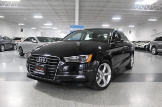 Used 2016 Audi A3 NO ACCIDENTS I KOMFORT I SUNROOF I HEATED SEATS I LEATHER for sale in Mississauga, ON