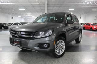 Used 2016 Volkswagen Tiguan 4MOTION I NO ACCIDENTS I NAVIGATION I PANOROOF I REAR CAM for sale in Mississauga, ON
