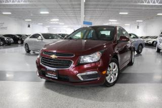 Used 2016 Chevrolet Cruze LT I NO ACCIDENTS I SUNROOF I BIG SCREEN I REARCAM I H.SEATS for sale in Mississauga, ON