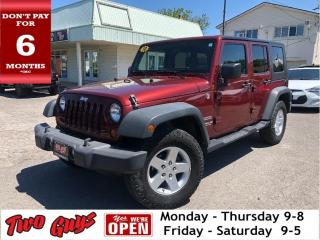 Used 2010 Jeep Wrangler Unlimited 4WD 4dr Sport Nice Local Trade In!! for sale in St Catharines, ON