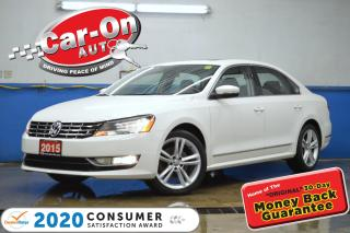 Used 2015 Volkswagen Passat 2.0 TDI Highline DIESEL LEATHER NAV SUNROOF REAR C for sale in Ottawa, ON