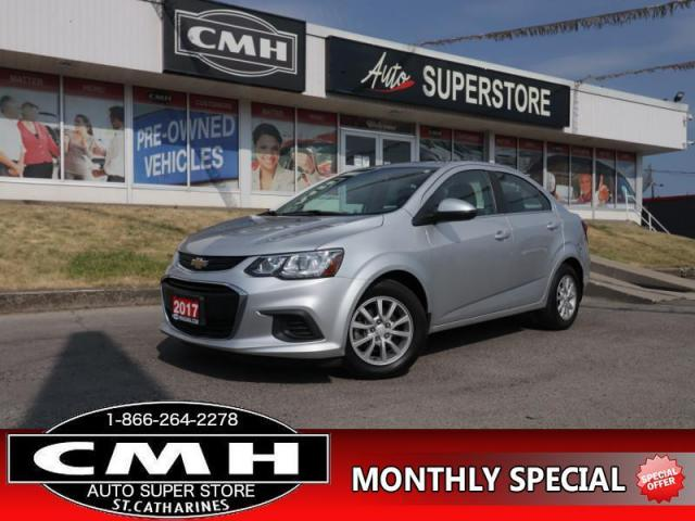 2017 Chevrolet Sonic LT  CAM BT HTD-SEATS S/W-AUDIO 15-AL
