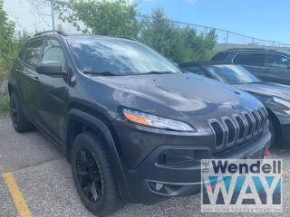 Used 2017 Jeep Cherokee Trailhawk Safety Pkg / Nav / V6 for sale in Kitchener, ON