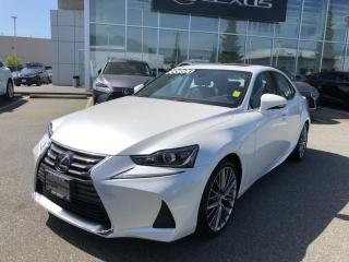 Used 2019 Lexus IS 300 AWD / Premium PKG, NO Accidents, LOW KM, ONE Owner, L for sale in North Vancouver, BC