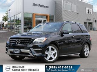 Used 2013 Mercedes-Benz ML-Class ML 350 BlueTEC 4MATIC for sale in North Vancouver, BC