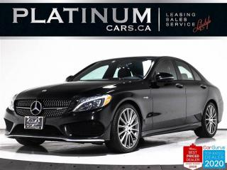 Used 2018 Mercedes-Benz C-Class AMG C 43 4MATIC, 362HP, NAV, BURMESTER, PANO, CAM for sale in Toronto, ON