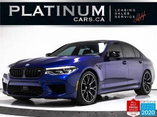 Used 2019 BMW M5 Competition, 617HP, NAV, 360, MASSAGE, HARMAN for sale in Toronto, ON