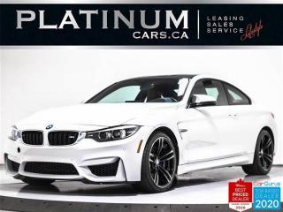 Used 2018 BMW M4 425HP, NAV, EXEC PKG, CARBON PKG, HUD, VENTILATED for sale in Toronto, ON