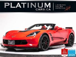 Used 2017 Chevrolet Corvette Grand Sport, CONVERTIBLE, 3LT, 460HP, AUTO, NAV for sale in Toronto, ON