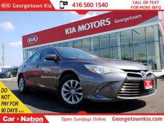 Used 2015 Toyota Camry SE| ONLY 60K KMS| CLEAN CARFAX| BLUTOOTH | PWR GRP for sale in Georgetown, ON