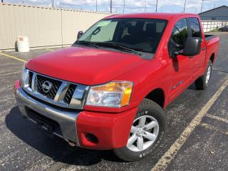 Used 2012 Nissan Titan Pro-4X Crew Cab 4WD for sale in Cayuga, ON