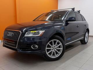 Used 2016 Audi Q5 TECHNIK QUATTRO *TOIT* NAVI *ANGLES MORTS* PROMO for sale in St-Jérôme, QC