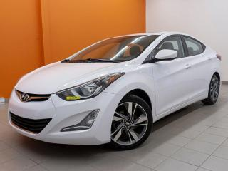 Used 2015 Hyundai Elantra GLS *TOIT OUVRANT* SIEGES CHAUFF *CAMERA* PROMO for sale in St-Jérôme, QC