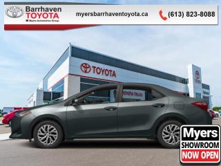Used 2017 Toyota Corolla LE  - Heated Seats -  Bluetooth - $105 B/W for sale in Ottawa, ON