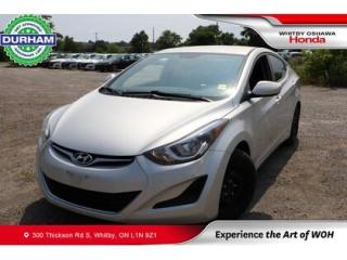 Used 2016 Hyundai Elantra 4DR SDN AUTO GL for sale in Whitby, ON