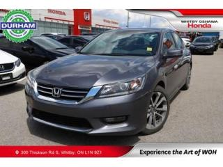 Used 2015 Honda Accord Sport for sale in Whitby, ON