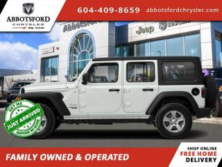 New 2020 Jeep Wrangler Unlimited Sahara - Leather Seats - $347 B/W for sale in Abbotsford, BC